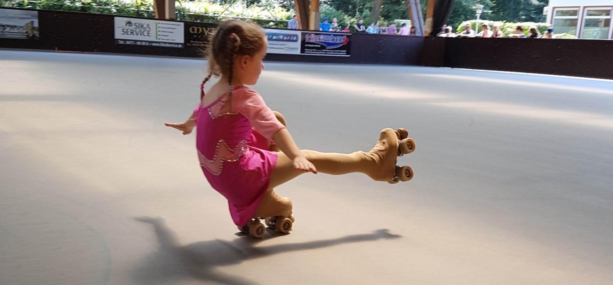 Rollkunstlaufen für Kids