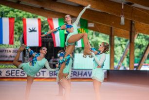 Rollerbeasts bestehen Feuertaufe bei Show-EM in Spanien