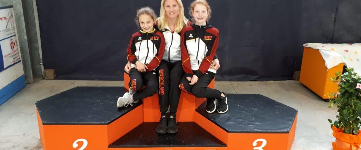 Rollkunstläuferinnen treffen auf hochklassige Konkurrenz