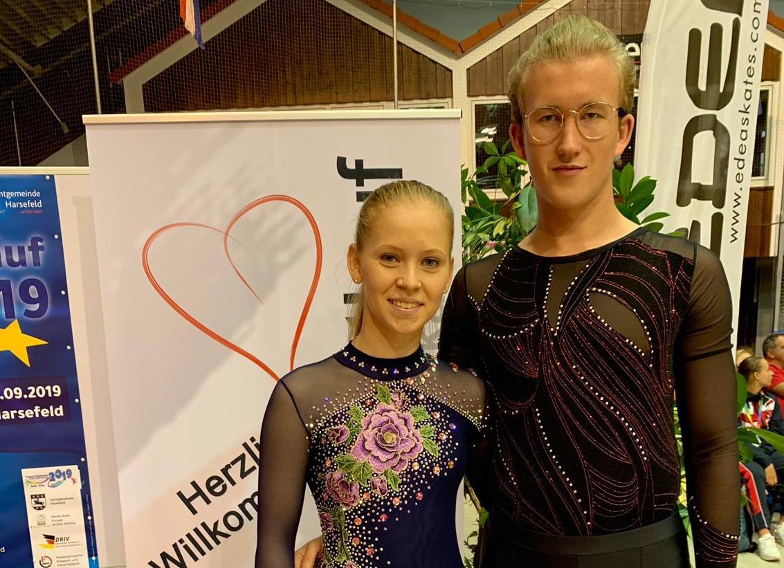 ERC-Duo bei Europameisterschaft