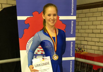 Sarah Kristin Behlen ist deutsche Jugendmeisterin