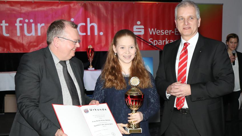 Sarah Kristin Behlen zur Sportlerin des Jahres gewählt!