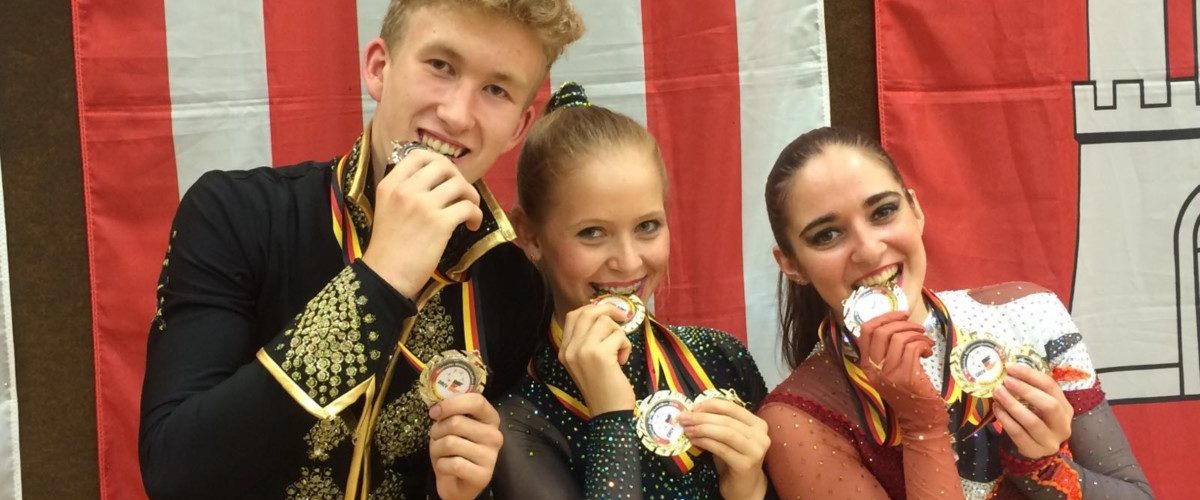 Lina Goncharenko ist deutsche Dreifach-Meisterin